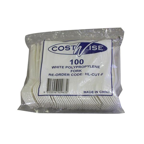 Plastic Forks 100 pack