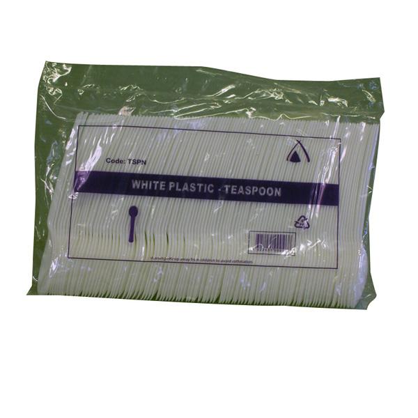 Plastic Teaspoons 100 pack