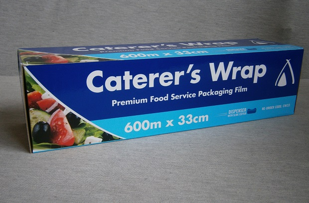 Cater's Wrap Premium  Food Service Packaging Film - Cling Wrap