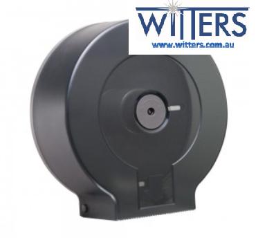 Plastic Jumbo Toilet Roll Dispenser - Single
