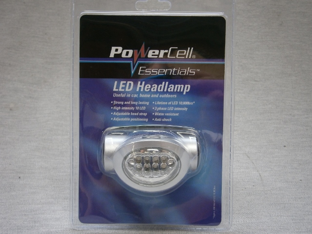 LED Head Lamp with adjustable head strap