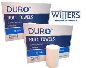 Duro Roll Towels - 80 metre x 16 rolls