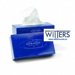 Ultrasoft Facial Tissues 2 ply 48 pkts x 100sheet