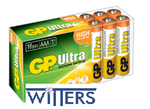 AAA Powercell Batteries - 16 Pack