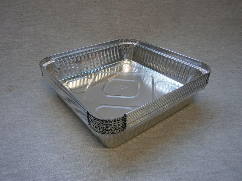 BBQ Foil Trays 1.5kg Square