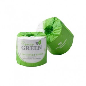 Toilet Paper 400 sheet 2 ply - Green