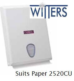 Compact Towel Dispenser - ABS Plastic - Suits CP-2520CU