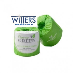 Caprice Green Toilet Paper - 2ply x 400 sheet - CP-400C