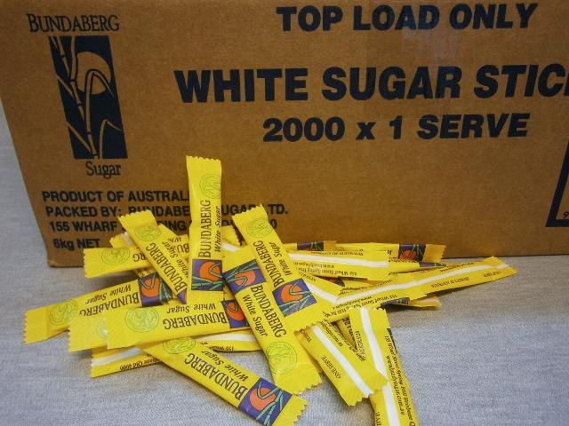 Bundaberg Individual Sugar Sticks 3gram x 2000