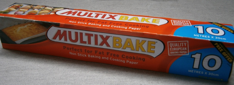 Multix Bake  - Non stick baking and cooking Paer 30cm x 10m