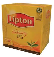 Lipton Tea Bags x 200