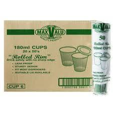 Plastic Cups 6oz