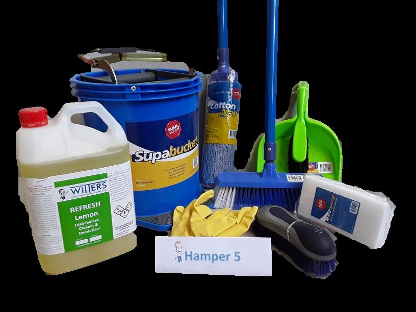 Hamper 5 - Complete Cleaning Hamper