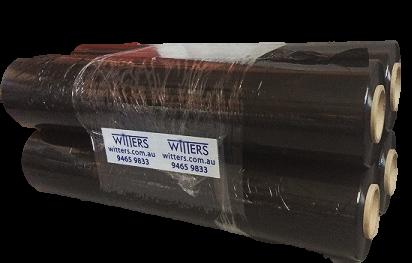 Pallet Wrap Pallet Wrap Black Hand Cast  23um x 383mt