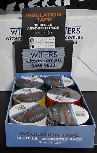 Insulation Tape 12 rolls x 10mt