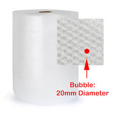 20mm Bubble Wrap - 1.5mt x 100mt - Full Roll