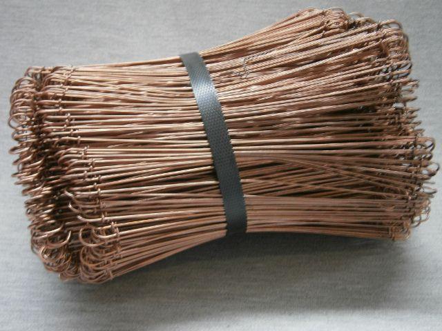 Red Copper Coated Loop Ties