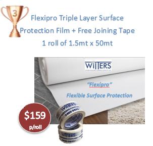 Flexipro - Flexible Surface Protection Film 1.5mt x 50mt