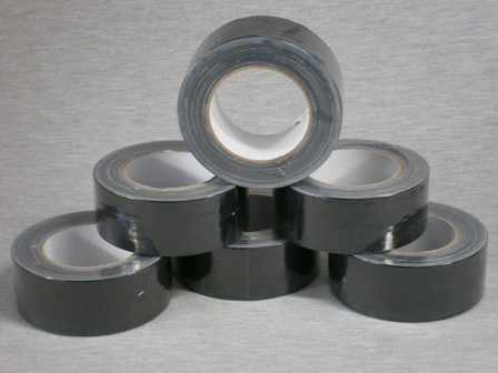 Cloth Tape - Black 48mm x 25m