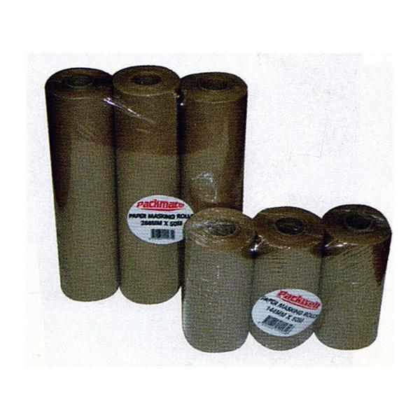 Masking Paper Rolls Brown