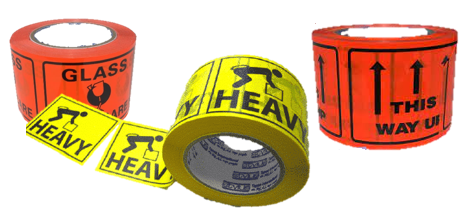 Ripstick Labels - Glassw/care - Heavy - This Way Up