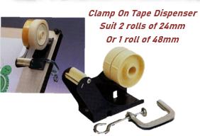 Clamp On Tape Dispenser