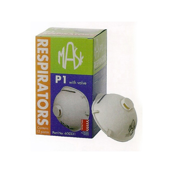 P1 Valved Dust & Mist Masks - 20 Boxes of 12 Masks