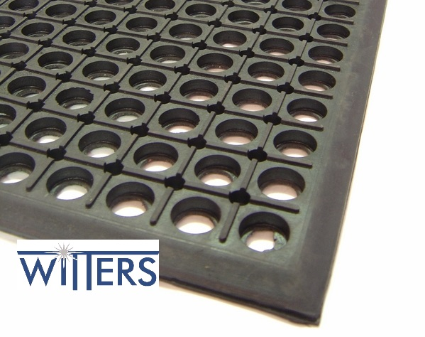 Bevelled Edged Safety Mat - 13mm Thick