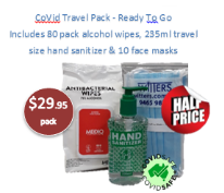 CoVid Travel Pack - Ready To Go