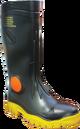 Stimela 'Foreman' Black Safety Toe Gumboots