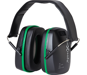 Maxisafe - Green Ear Muffs 3007 - Folding Ear Muffs - Class 4 - 25dB