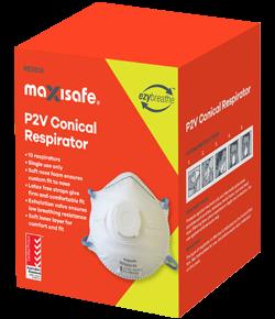 P2 Valved Dust & Mist Mask - 10 pack