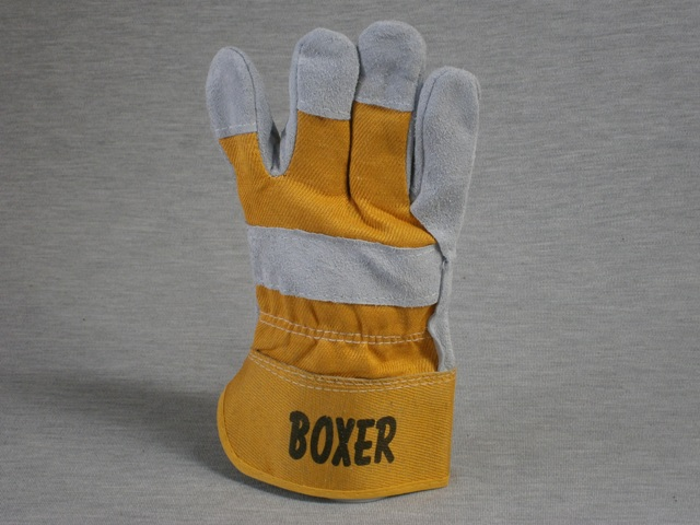 Boxer Split Leather Glove