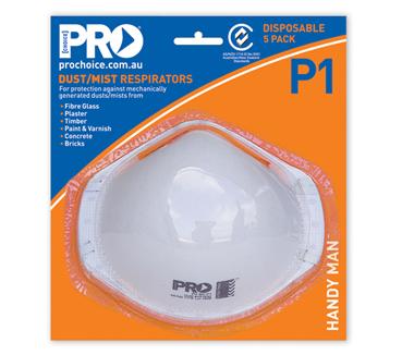 P1 Dust & Mist Masks - Disposable