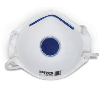 P2 Valved Dust & Mists Masks - Disposable