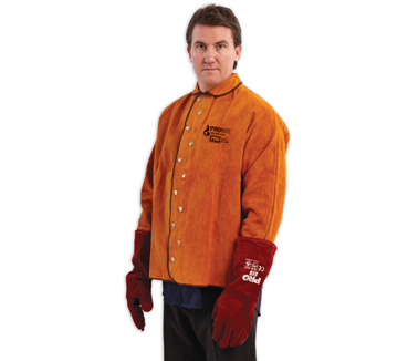 Pyromate Red Welding Jacket