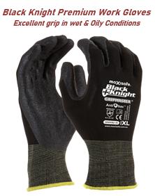 Black Knight Premium Work Gloves