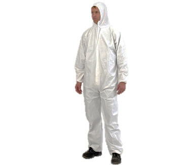 Provek - Disposable Overalls White