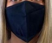 Resuable Washable High Quality Face Mask - Black