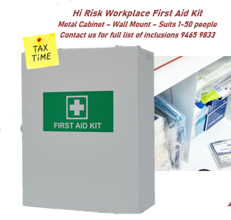 Brenniston National High Risk First Aid Metal Cabinet 1-50 person