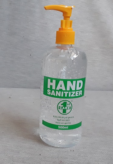 Hand Sanitiser Gel 500ml Pump Pack