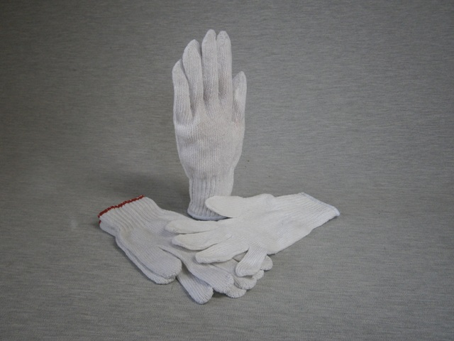Men's Knitted Poly Cotton Gloves  300 pair