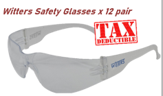 Witters Safety Glasses - Clear