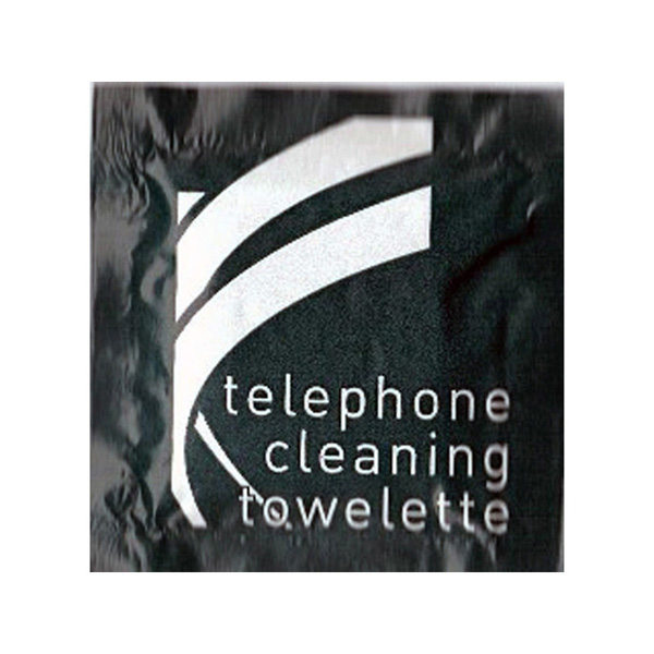 Telephone Wipes Cleaning Towelette