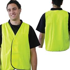 Pro Choice Yellow Safety Vest - Day Use