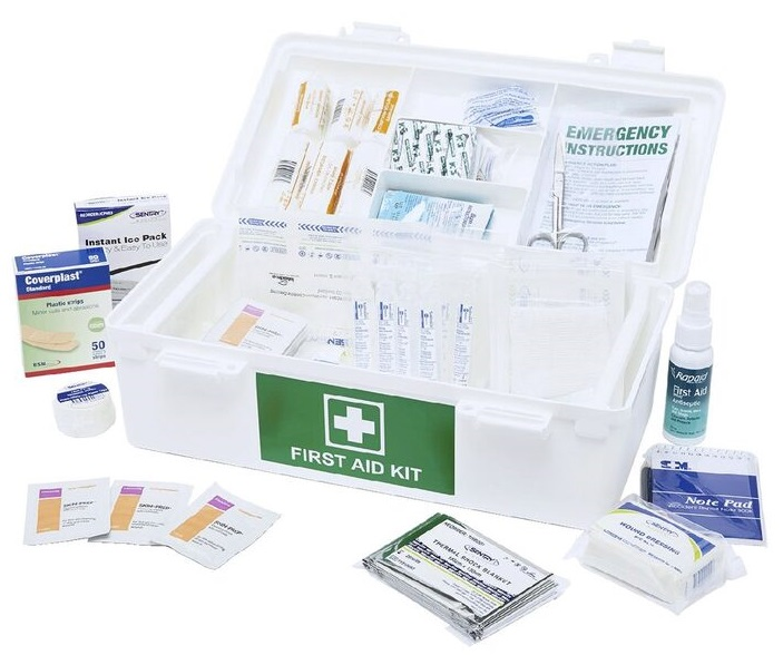 Brenniston National Medium Risk First Aid Kit Carry Box 1-25 person