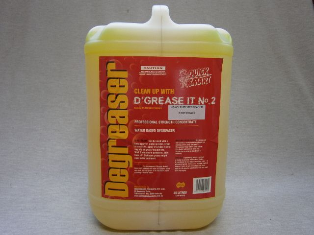 Heavy Duty Water Based Degreaser - 25lt