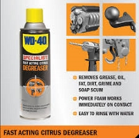 Fast Acting Citrus Degreaser - 400g