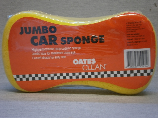 Jumbo Bone Shaped Car Sponge