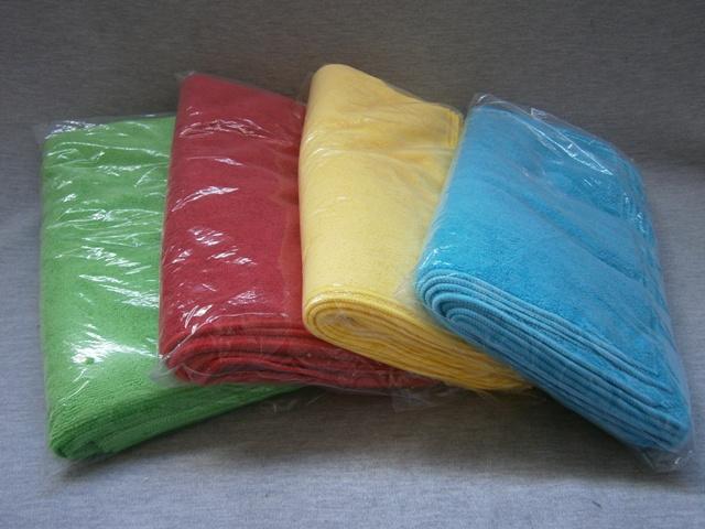 Economy Microfibre Cloths - 10 Pack